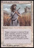 Magic the Gathering Beta Single Swords to Plowshares - MODERATE PLAY (MP)