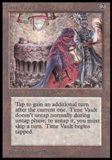 Magic the Gathering Beta Single Time Vault LIGHT PLAY (NM)