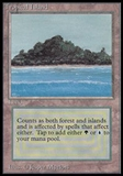 Magic the Gathering Beta Single Tropical Island UNPLAYED (NM/MT)