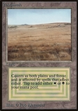 Magic the Gathering Beta Single Savannah - HEAVY PLAY (HP)