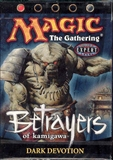 Magic the Gathering Betrayers of Kami. Dark Devotion Precon Theme Deck