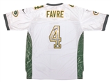 Brett Favre Autographed Green Bay Packers Alt. On Field Nike Jersey (Very Rare) Favre Holo