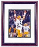 Brett Favre Autographed Green Bay Packers Framed (Double Matted) 8X10 Photo (Favre Auth)