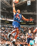 Chauncey Billups Autographed Toronto Raptors 8x10 Photo (Press Pass)