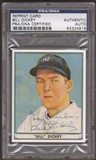 1941 Playball Reprint Bill Dickey Autographed Card PSA Slabbed (4918)
