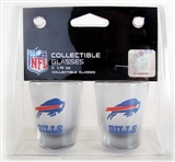 1.75 Oz NFL / Buffalo Bills 2 pk SATIN ETCH SHOT (Boelter)