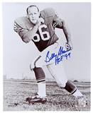 Billy Shaw Autographed Buffalo Bills 8x10 Black and White Photo