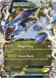 Pokemon Black and White Promo Single Black Kyurem EX BW62 - SLIGHT PLAY (SP)
