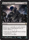 Magic the Gathering Mirrodin Besieged Single Black Sun's Zenith UNPLAYED (NM/MT)
