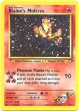 Pokemon Gym Heroes Single Blaine's Moltres 1/132 - SLIGHT PLAY (SP)
