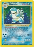 Pokemon Base Set 1 Single Blastoise 2/102 - MODERATE PLAY (MP)