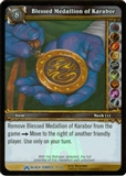 WoW Black Temple Singles 4x Blessed Medallion of Karabor (BTT-3) FOIL