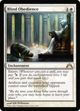 Magic the Gathering Gatecrash Single Blind Obedience - NEAR MINT (NM)