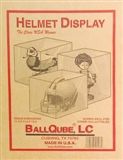 Ball Qube Inc. Full Size Football Helmet Holder