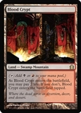 Magic the Gathering Return to Ravnica Single Blood Crypt FOIL