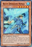 Yu-Gi-Oh Return of the Duelist Single Blue Dragon Ninja Super Rare