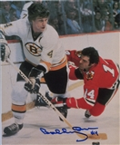 Bobby Orr Autographed Boston Bruins 8x10 Photograph (Orr Hall of Fame COA)