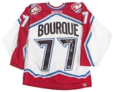 Ray Bourque Autographed Colorado Avalanche Authentic White Jersey (HOF Insc) (AJ's)
