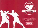 2017 Hit Parade Autographed Boxing Gear Hobby Box - Series #1 Mike Tyson &  Evander Holyfield Dual Signed!