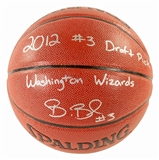 Bradley Beal Autographed Washington Wizards Spalding Basketball w/Inscription (PSA)