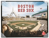 Artissimo Boston Red Sox Glory Stadium 22x28 Canvas