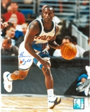 Brevin Knight Autographed Cleveland Cavaliers 8x10 Photo (Press Pass)