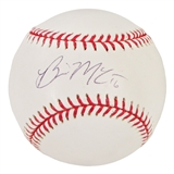 Brian McCann Autographed New York Yankees Official MLB Baseball (JSA COA)
