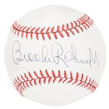 Brooks Robinson Autographed Baltimore Orioles MLB American League Baseball (JSA)