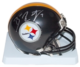 Ben Roethlisberger Autographed Pittsburgh Steelers Mini Helmet (Mounted Memories)