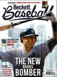 2016 Beckett Baseball Monthly Price Guide (#128 November) (Gary Sanchez)