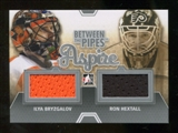 2012/13 In the Game Between The Pipes Aspire Jerseys Silver #ASP17 Ilya Bryzgalov/Ron Hextall /140