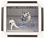 1978 New York Yankees Autographed 16x20 Framed With 17 Signatures #5/27 (Steiner)