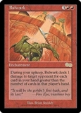 Magic the Gathering Urza's Saga Single Bulwark UNPLAYED (NM/MT)