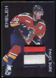 1999/00 BAP Millennium Jersey Emblems Patch #E10 Pavel Bure SP /20