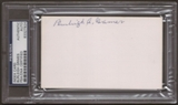 Burleigh Grimes Autograph (Index Card) PSA/DNA Certified *7924