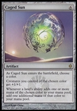 Magic the Gathering New Phyrexia Single Caged Sun FOIL - NEAR MINT (NM)