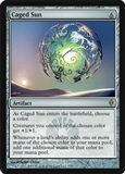 Magic the Gathering New Phyrexia Single Caged Sun UNPLAYED (NM/MT)