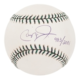 Cal Ripken Autographed Official 2001 MLB All-Star Game Baseball #/2001 (MLB Hologram)