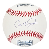 Cal Ripken Jr. Autographed Baltimore Orioles Rawlings Hall of Fame Baseball (Tristar)