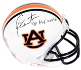 Cam Newton Autographed Auburn Tigers Mini Helmet (PSA) w/ Heisman inscription