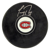 Carey Price Autographed Montreal Canadiens Hockey Puck (Frameworth)