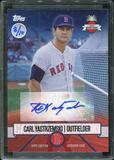 2016 Topps Baseball Hawaii Summit Exclusive Carl Yastrzemski Autograph 8/10