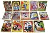 Cartoon Sketch Metallogloss Card Set (2010 Breygent)