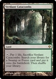 Magic the Gathering Zendikar Single Verdant Catacombs Foil