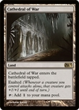 Magic the Gathering 2013 Single Cathedral of War UNPLAYED NM/MT