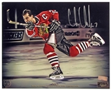 Chris Chelios Autographed 8x10 Photo 2013 The National Panini VIP Signings