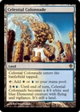 Magic the Gathering Worldwake Single Celestial Colonnade LIGHT PLAY (NM)