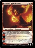 Magic the Gathering 2014 Single Chandra, Pyromaster FOIL