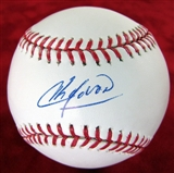Aroldis Chapman Baseball Autographed Official MLB Ball