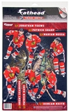 Fathead Chicago Blackhawks Team Set Wall Graphic - Kane, Toews (Lot of 10)